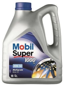 Mobil Super 1000 X 1 20W 50 Oli Mesin 4 Liter