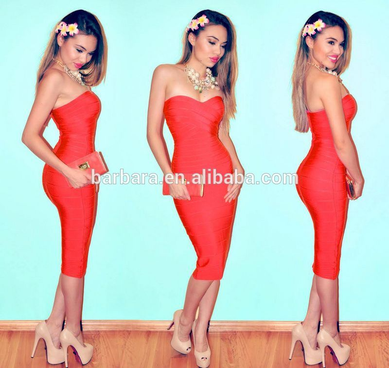 Vestidos De Fiesta Nuevos Estilos Vestido De Cóctel Rojo