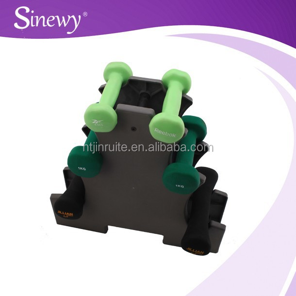 New design gym equipment dumbell rack/dumbbell sets