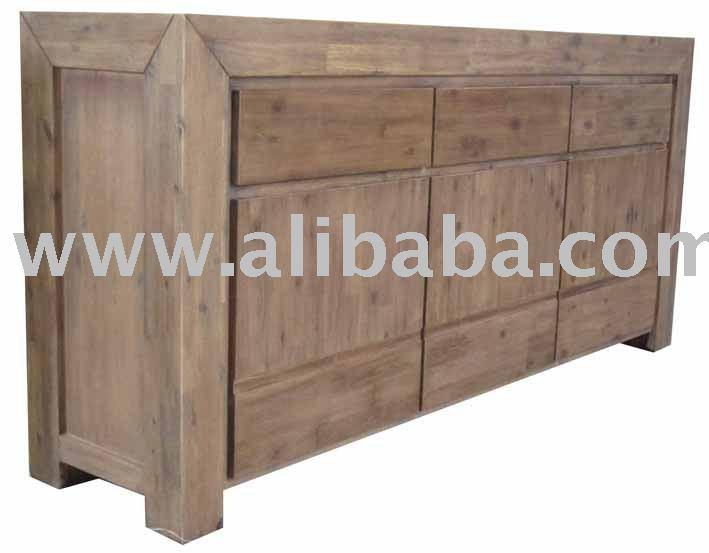 Superior Acacia Furniture Lena Sideboard   Buy Acacia Wood Furniture Product On  Alibaba.com