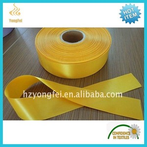 China Supplier Clothing printing double side polyester satin label tape