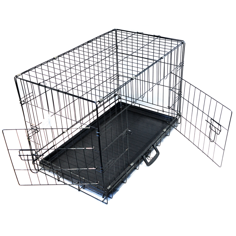 two door large metal customized pet cage