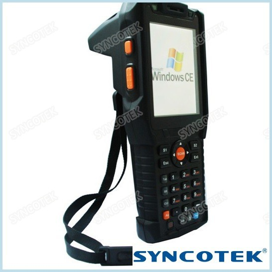 Wifi GPRS Bluetooth Handheld Barcode Scanner+ UHF RFID Reader Writer