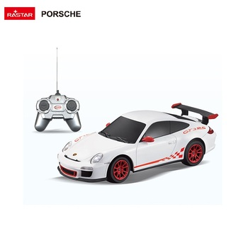 RASTAR kids battery plastic toys Porsche 1:24 small radio control rc car