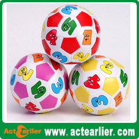 promotional soft leather soccer ball toy for kids