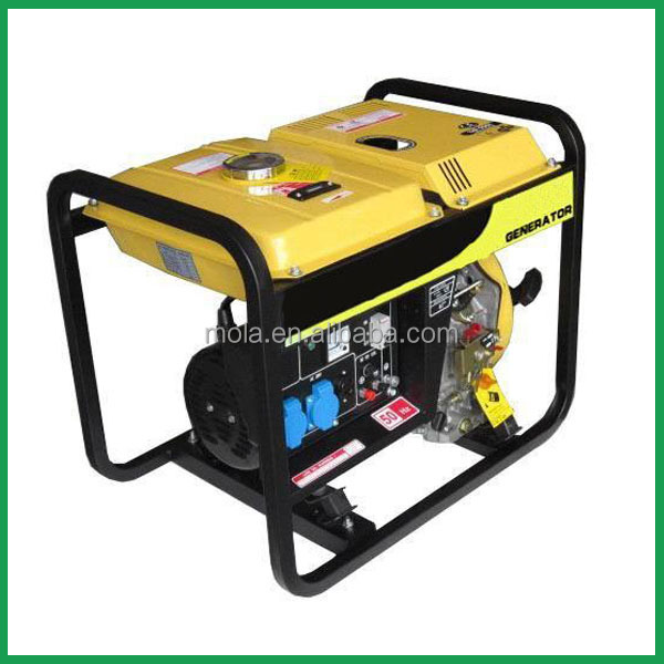 Small Electric Generator : Power generator water cooled household small electric