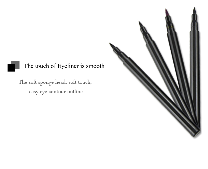 Best Quality Small MOQ Very Smooth Liquid Eyeliner Waterproof