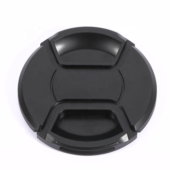 massa 67mm Camera centre pinch plastic black unieveral lens cap