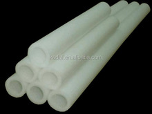 customized size white color epe foam tube