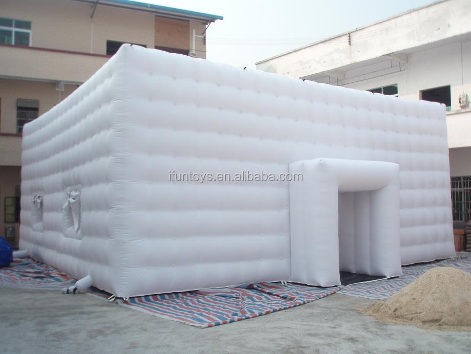 White outdoor inflatable marquee,giant inflatable tent for sale,inflatable dome