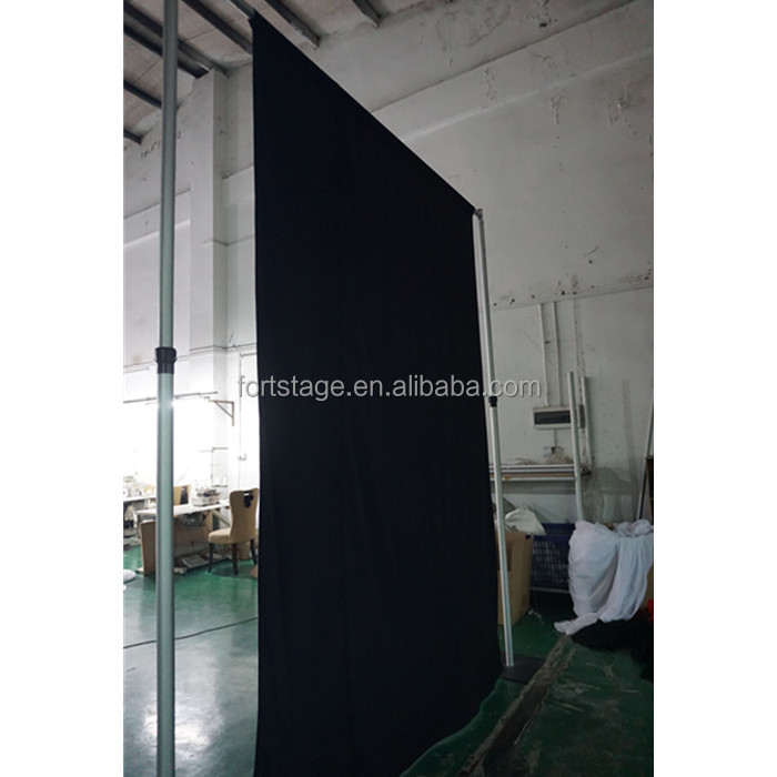 in drapes black los drape pipe cheap and county orange for img rental sale