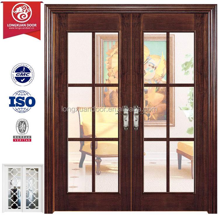 bolsillo puerta corredera de aluminio o marco de madera diseador de puerta