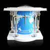 Clarity fashion acrylic stainless steel podium church pulpit