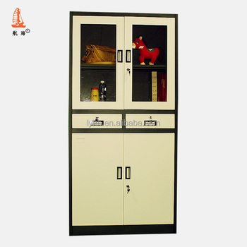 China Supplier Military Office Slanting 2 Drawer Display Cabinet