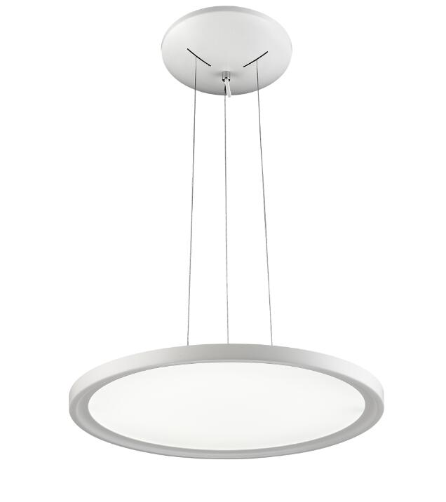 45W round suspended ceiling color changing LED panel light for living room