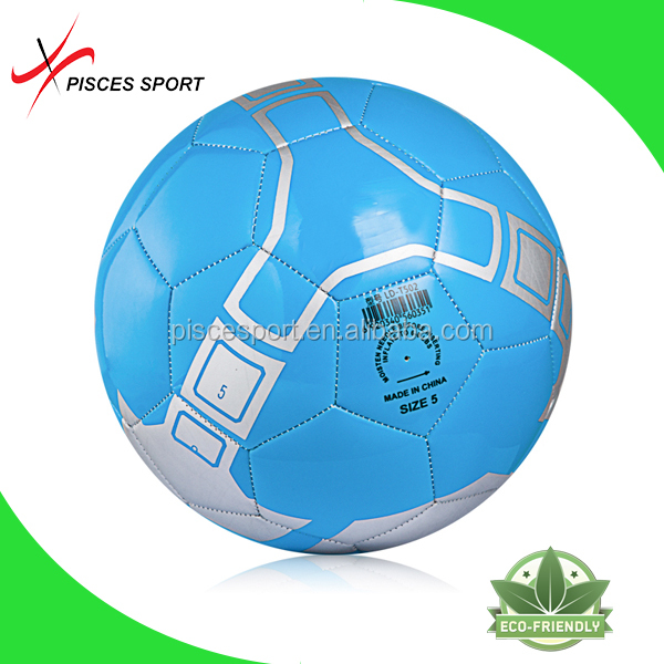 Pisces machine stitched soccer ball football