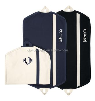 Cfp B564 Heavy Duty Bags With Zip Pockets Canvas Garment Bag