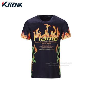 964301e55 Custom Dye Sublimation Printing T-shirt Manufacturer - Buy Tshirt ...