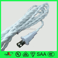 Colorful fabric coated cable, fabric twisted power cable, twisted wire