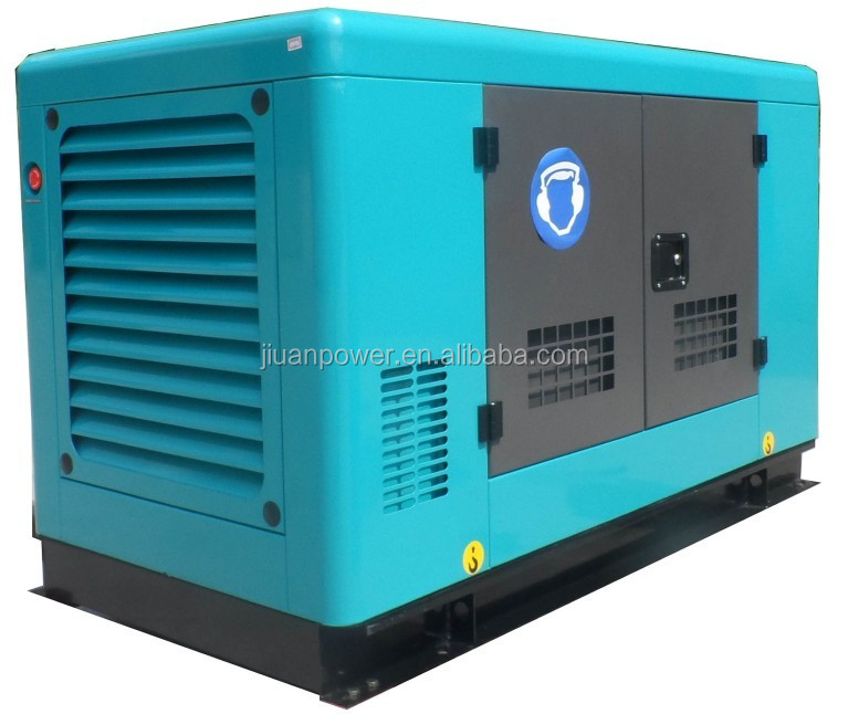 12KVA guangzhou factory sale power silent electric diesel generator set electric power 12kva diesel automatic portable jiuan