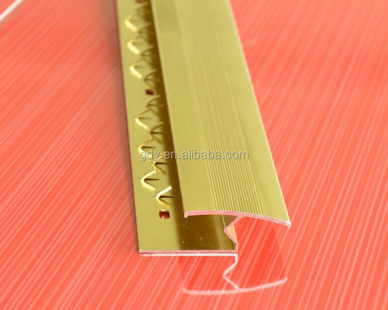 New Product Aluminum Carpet Edge Strip Stair Edge
