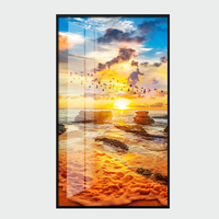 Modern gallery print acrylic glass wall art