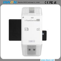 plastic swivel carxd reader mini swivel chip card reader writer Custom Logo for USB