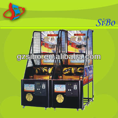 GM3312 China Cheap crazy shoot basketball machine