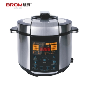 2017 Hot selling kitchen appliance intelligent multifunction stainless steel electrical pressure cooker