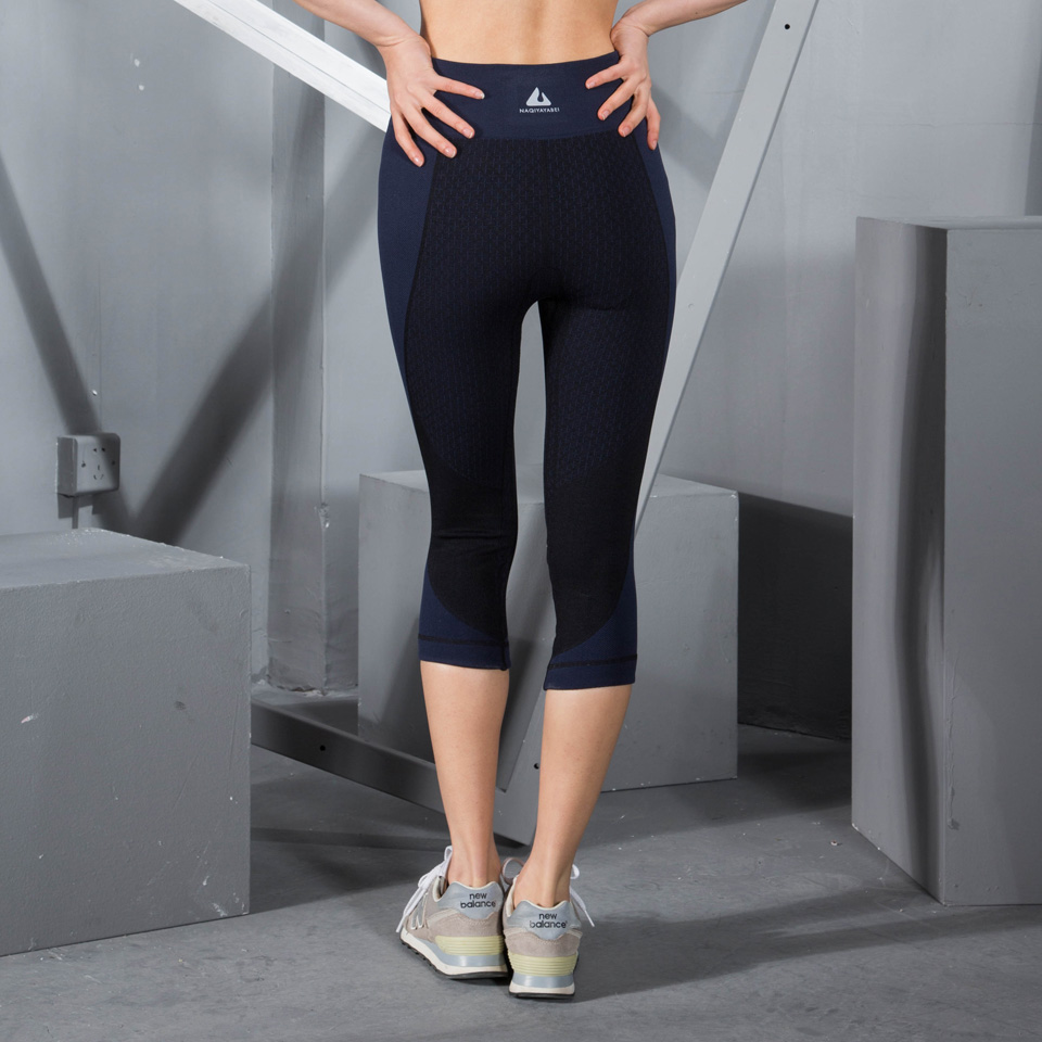 Women Three Quarters Yoga Pants Sport Pants Tights Sport