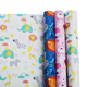 Premium Quality Baby Shower Paper Roll Kids Birthday Gift Wrapping Paper
