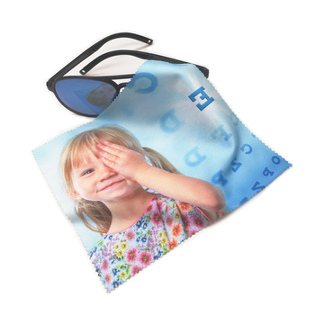 Custom Logo Printed Microfiber Glasses Sunglasses Eyeglasses Cleaning Cloth