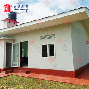 Fashion modern sandwich panel modular house with quick delivery and assemble