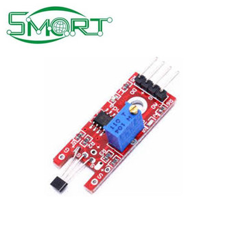 Smart electronics China manufacture 4pin KY-024 Linear Magnetic Hall Switches Speed Counting Sensor Module for 2019