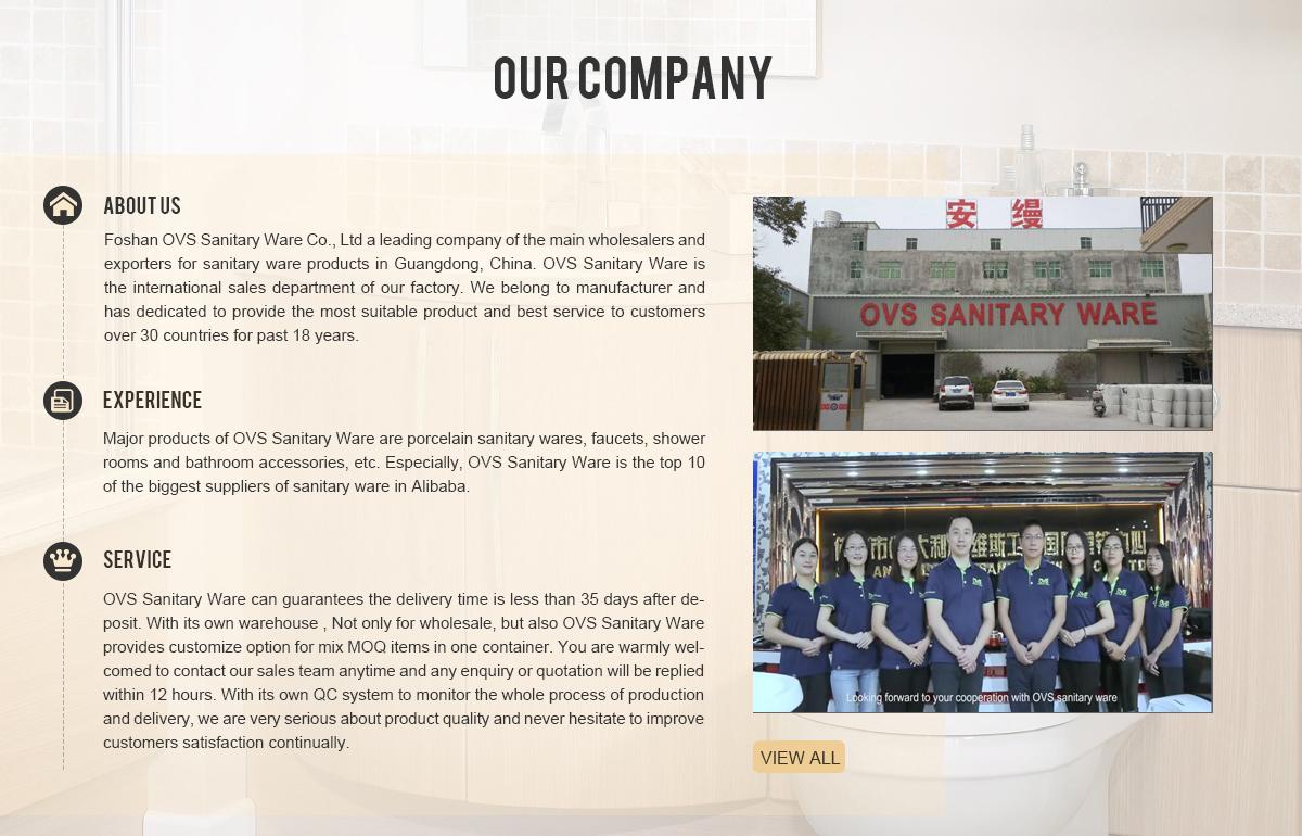Foshan Ovs Sanitary Ware Co Ltd Ceramic Sanitary Ware Faucet