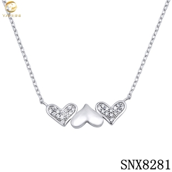 Women Female Fashion Gold Thin Chains Necklaces Dubai Pave Zircon Hearts Gold Chain Rosary Necklace Buy Best Bitches Necklace Sterling Silver Girlfriend Heart Pendant Necklace Women Female Fashion Gold Thin Chains Necklaces Product On