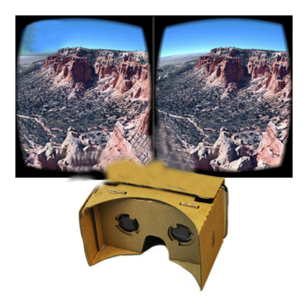 New Ultra Clear Quality 3D Vr Virtual Reality Google Cardboard Valencia Glasses