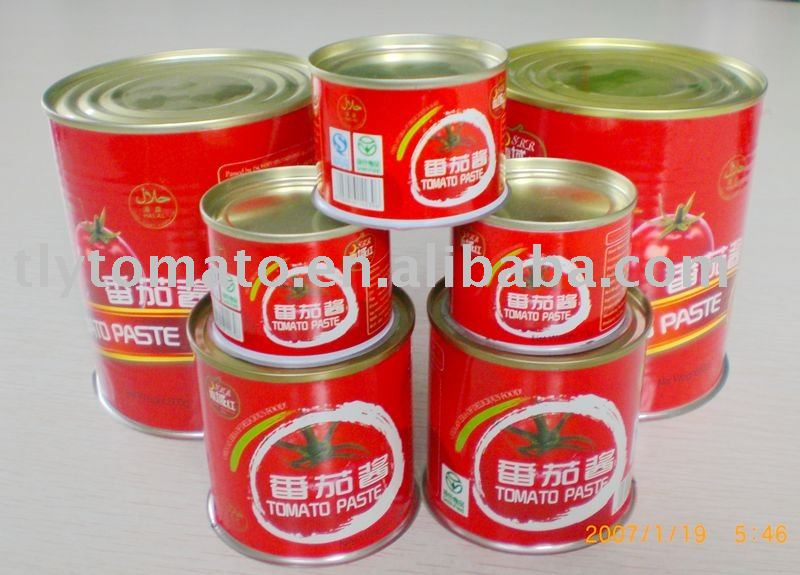 Double Concentrated Canned Tomato Paste For Japan