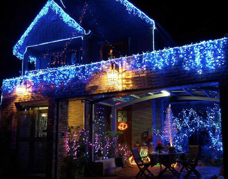 street christmas light waterproof outdoor led icicle lights rain drop christmas lights - Teardrop Christmas Lights