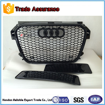 for audi rs grill front grille for audi a1 a8 q3 q5. Black Bedroom Furniture Sets. Home Design Ideas