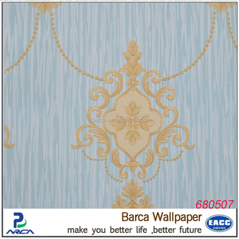 Best Quality Marble Home Wallpaper Living Room Background Pvc Wall Paper
