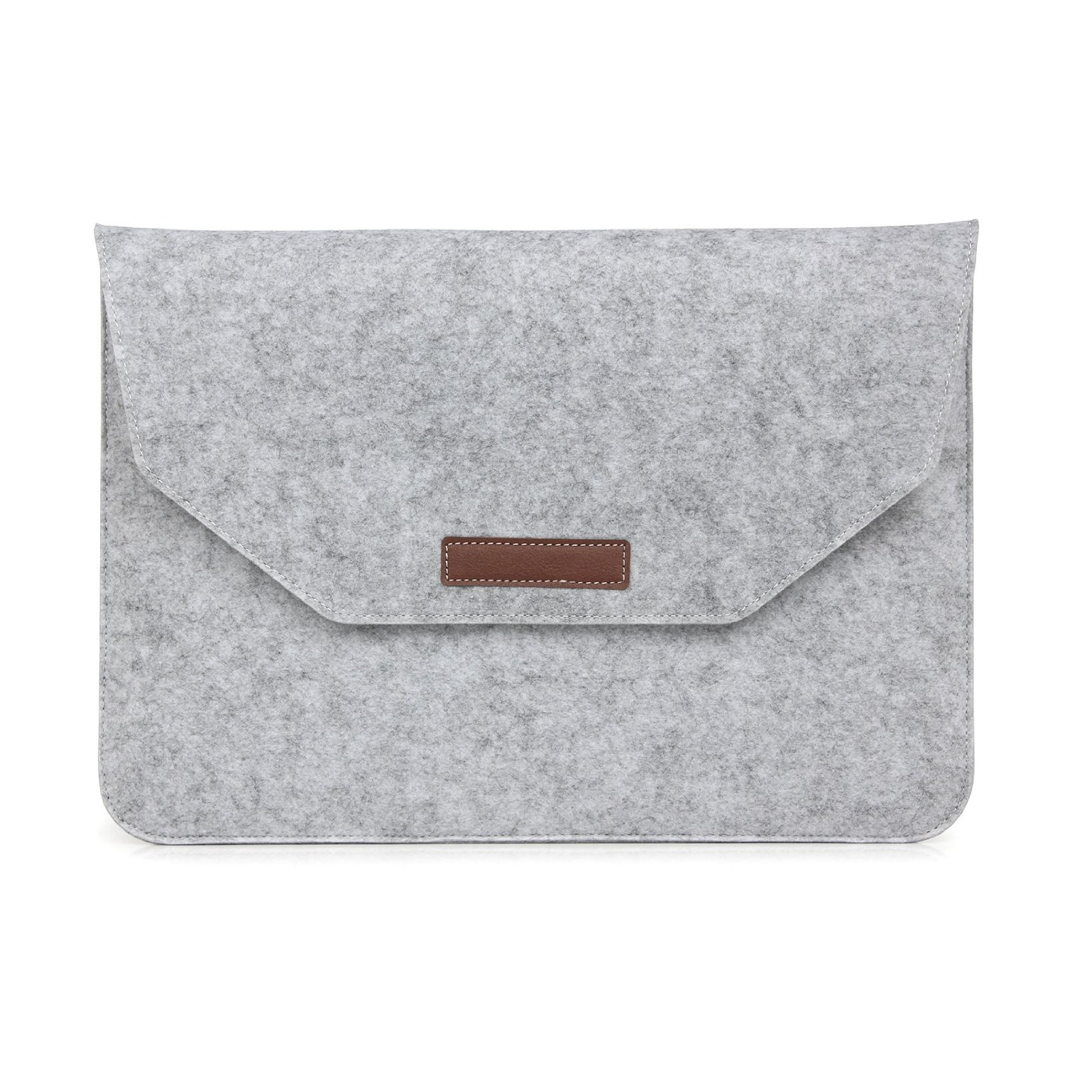 Sleeve Bag for Macbook Laptop, Arroker Artificial Wool Portable Carrying Case for 11.6'' Macbook Air / 13.3''-15.4'' Macbook Pro / 2015 New Macbook 12'' (Fit for 15.4'' RETINA)