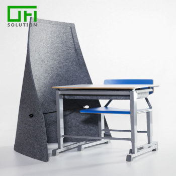 Noise Reduction Board Office Furniture Polyester Acoustic