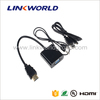 Linkworld hot sale 3.5mm jack audio cable+hdmi to VGA