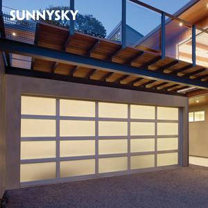 Factory direct waterproof seal quotes online aluminum garage door with  finished paint
