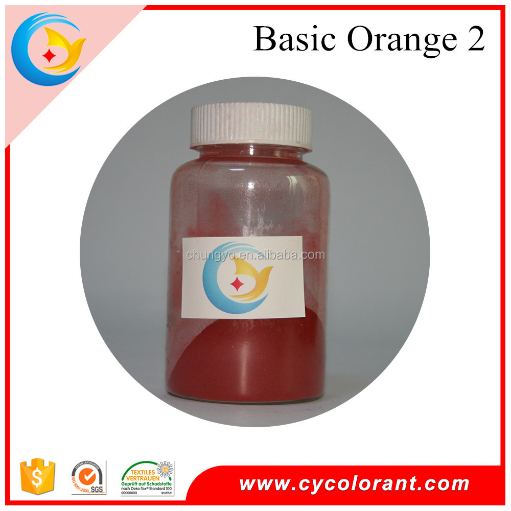 Basic Dyes Orange 2 fabric dye color tissue paper