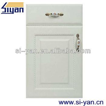 White Wood Kitchen Cabinet Plastic Cover - Buy Kitchen ...