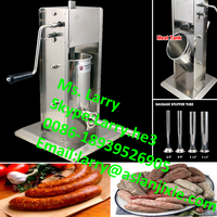 meat stuffing machine/meat filling machine/stainless steel manual rapid sausage filler