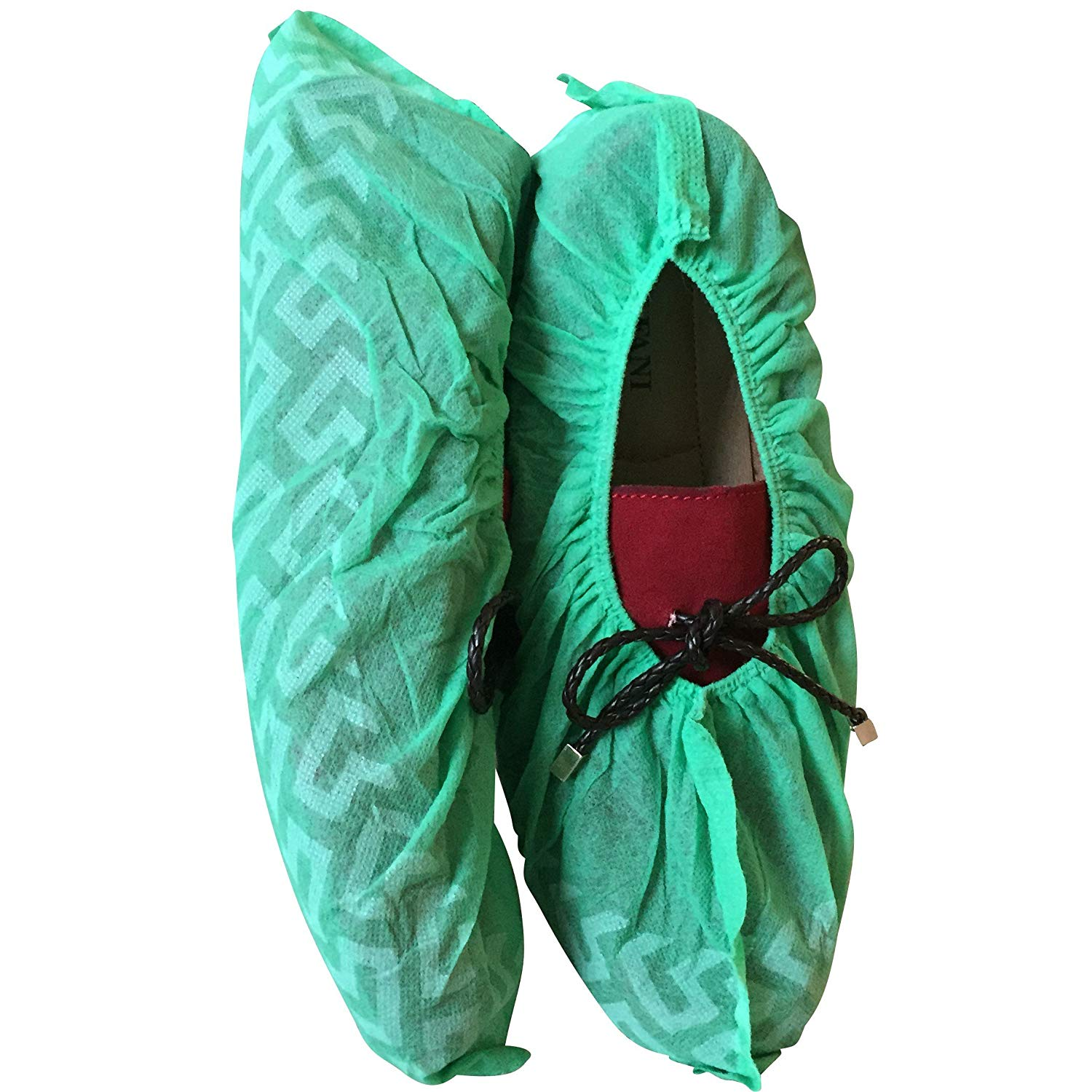 1 Pair Bowling Shoe Covers Shoe Shield Household Room Boot Covers