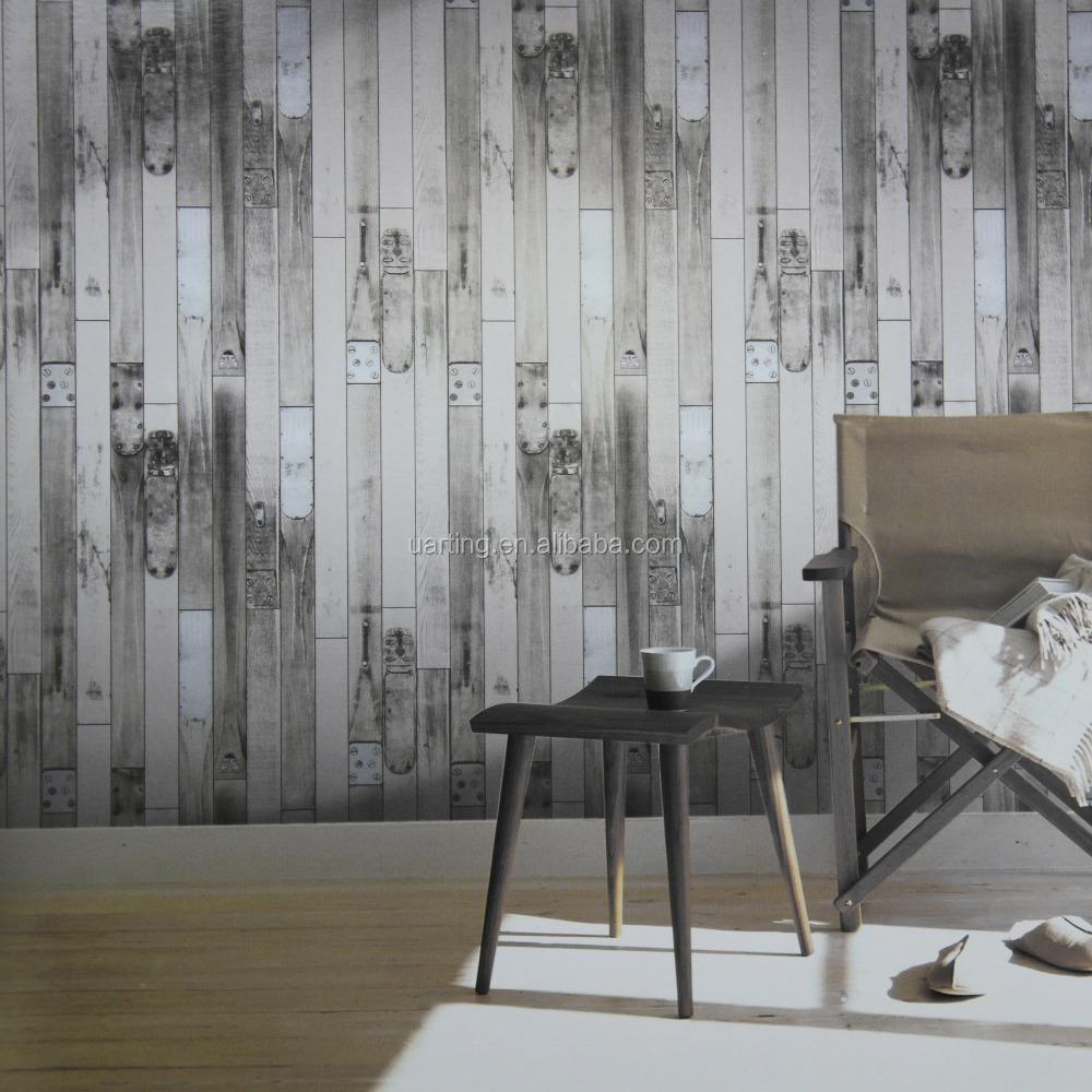 Carta da parati effetto 3d pannello in legno da parete for Carta da parati in pvc